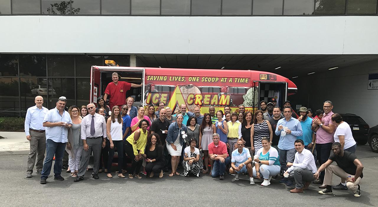 Ice Cream Emergency Team Building Party