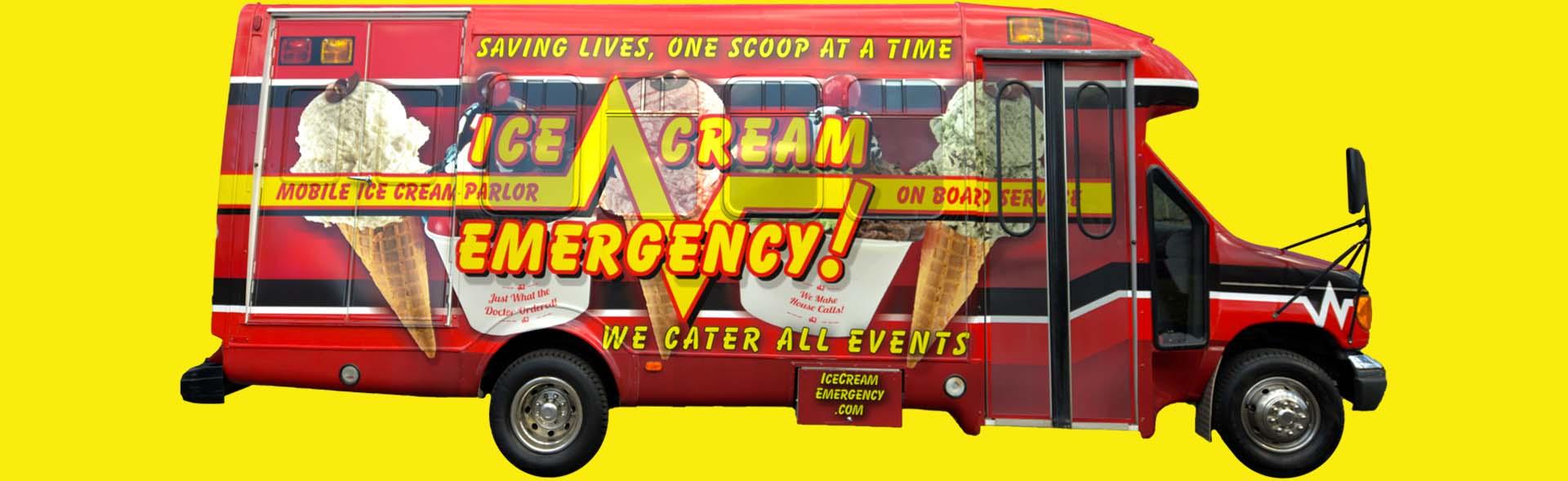Home Slider Outside of Ice Cream Bus